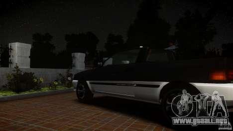 Blista Pick Up para GTA 4 vista hacia atrás