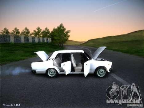 Vaz 2105 stock calidad para visión interna GTA San Andreas