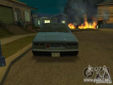 El taxi de romanos de GTA4 para la visión correcta GTA San Andreas