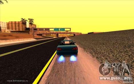 ENBSeries by MEdved para GTA San Andreas sucesivamente de pantalla