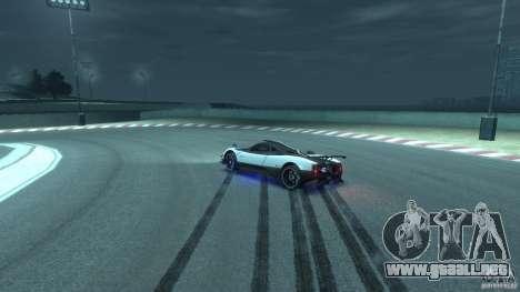 Pagani Zonda Cinque 2009 para GTA 4 vista lateral