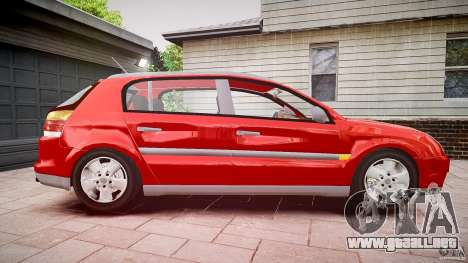 Opel Signum 1.9 CDTi 2005 para GTA 4 vista hacia atrás