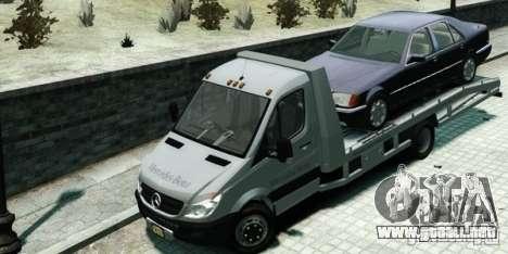 Mercedes-Benz Sprinter 3500 para GTA 4 Vista posterior izquierda