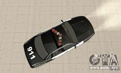 Ford Taurus 1992 Police para la visión correcta GTA San Andreas