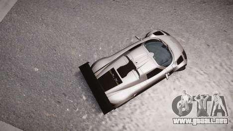 Gumpert Apollo Sport 2011 para GTA 4 Vista posterior izquierda
