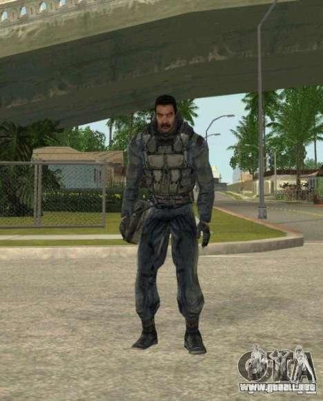 Agrupación de mercenarios de un acosador para GTA San Andreas quinta pantalla