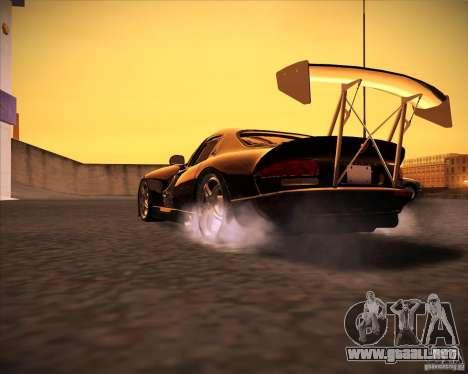 Dodge Viper TT para GTA San Andreas vista posterior izquierda
