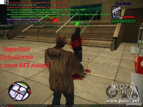 Sobeit for CM v0.6 para GTA San Andreas tercera pantalla