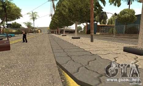 Grove Street 2012 V1.0 para GTA San Andreas sucesivamente de pantalla