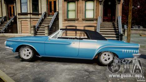 Dodge Dart 440 1962 para GTA 4 left