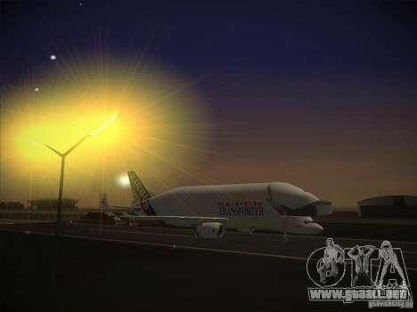 Airbus A300-600ST Beluga para GTA San Andreas left