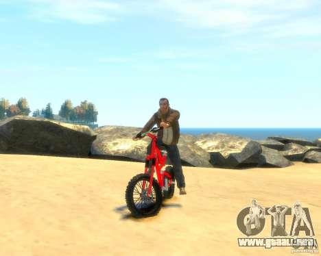 Mountain bike para GTA 4 visión correcta