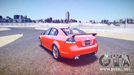 Holden Commodore SS (FBINOoSE) para GTA 4 vista lateral