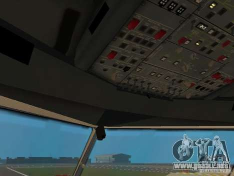 Airbus A330-300 Turkish Airlines para vista inferior GTA San Andreas