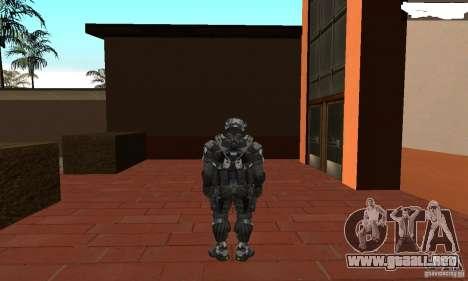 Crysis NanoSuit 2 para GTA San Andreas tercera pantalla