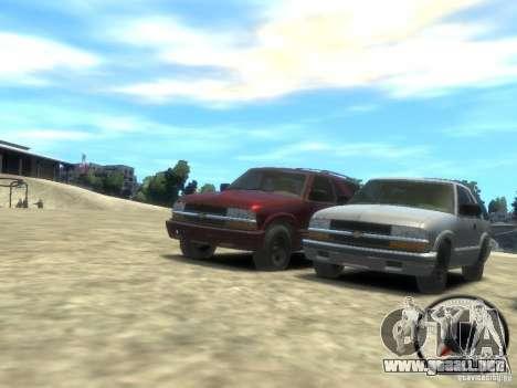 Chevrolet Blazer LS 2dr 4x4 para GTA 4 left