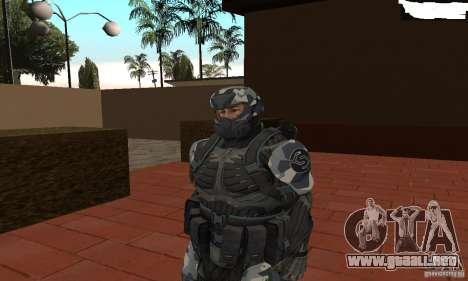 Crysis NanoSuit 2 para GTA San Andreas