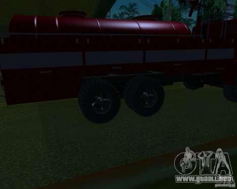 KAMAZ 53213 AP-5 para la visión correcta GTA San Andreas