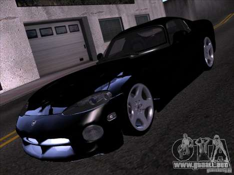 Dodge Viper para vista inferior GTA San Andreas
