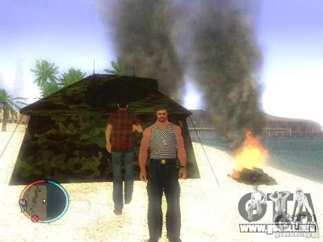 Marinero para GTA San Andreas segunda pantalla