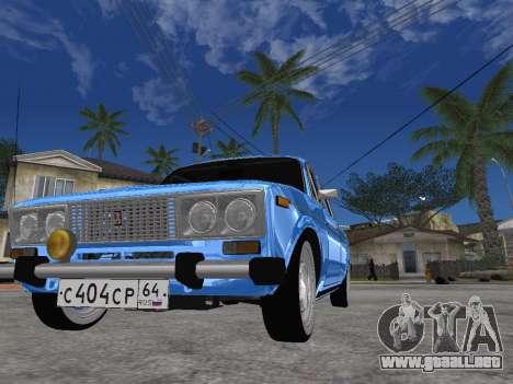 VAZ 2106 Retro V2 para la visión correcta GTA San Andreas