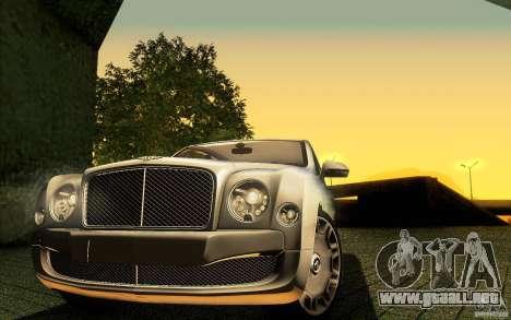 Bentley Mulsanne 2010 v1.0 para el motor de GTA San Andreas