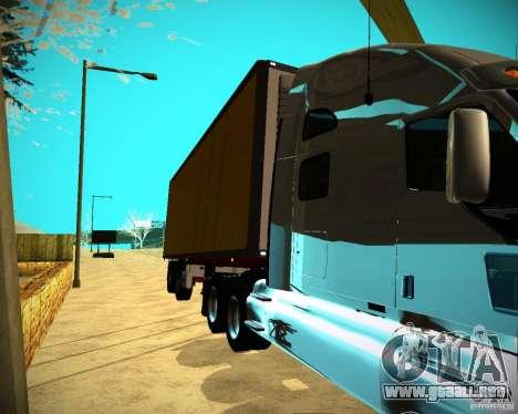 El remolque Krone Biedra para GTA San Andreas vista posterior izquierda