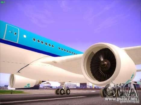 Airbus A330-200 KLM Royal Dutch Airlines para vista lateral GTA San Andreas