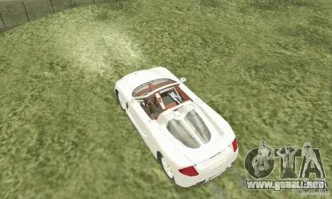 Porsche Carrera GT 2003 para la visión correcta GTA San Andreas