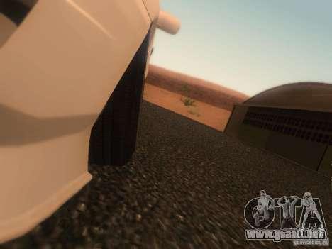 Nissan Skyline GTS R32 JDM para GTA San Andreas vista posterior izquierda
