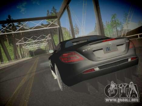 Mercedes-Benz SLR 722 Custom Edition para GTA San Andreas left