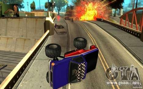 Ballas para GTA San Andreas sucesivamente de pantalla