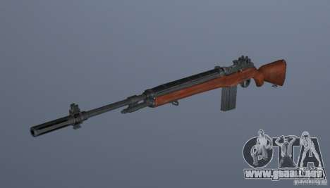 Grims weapon pack3 para GTA San Andreas sucesivamente de pantalla