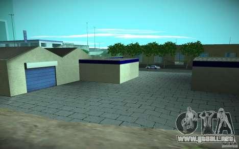 HD Garage in Doherty para GTA San Andreas sexta pantalla