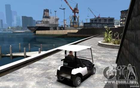 Caddy To IV para GTA 4 visión correcta