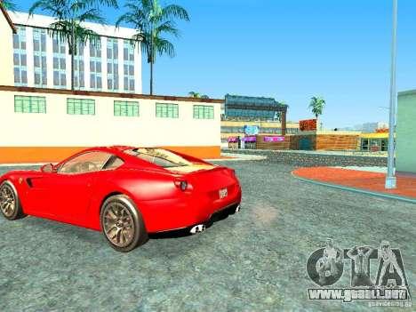 Ferrari 599 GTB para GTA San Andreas left