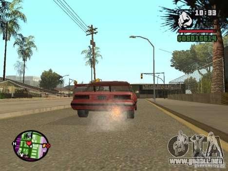 Overdose effects V1.3 para GTA San Andreas undécima de pantalla