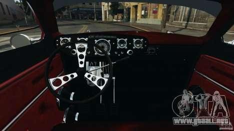 Walter Street Rod Custom Coupe para GTA 4 vista hacia atrás