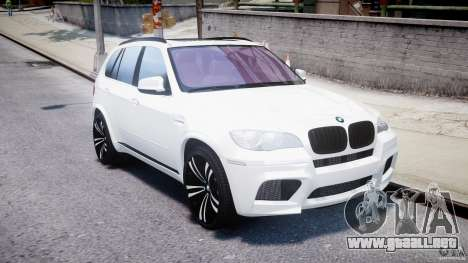 BMW X5M Chrome para GTA 4 vista interior