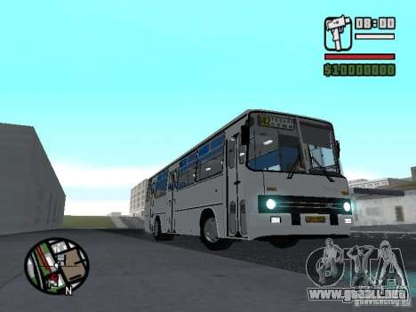 Ikarus 266 ciudad para GTA San Andreas