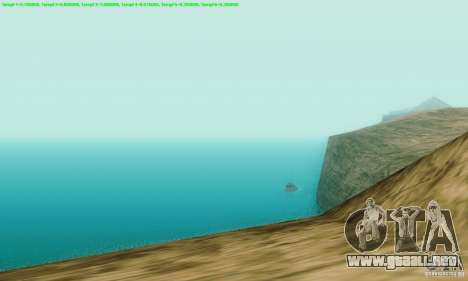 Marty McFly ENB 2.0 California Sun para GTA San Andreas tercera pantalla