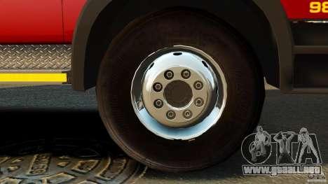 Mercedes-Benz Atego NMBMM [ELS] para GTA 4 vista hacia atrás