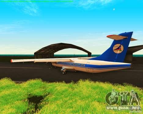 ATR 72-500 Azerbaijan Airlines para la visión correcta GTA San Andreas