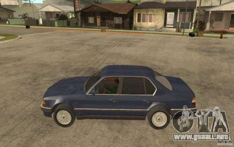 BMW 735Li e32 para GTA San Andreas left