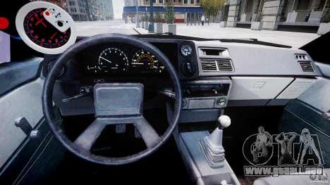 Toyota AE86 TRUENO Initial D para GTA 4 visión correcta