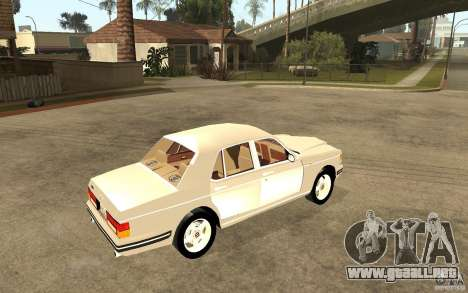 Bentley Turbo RT para GTA San Andreas