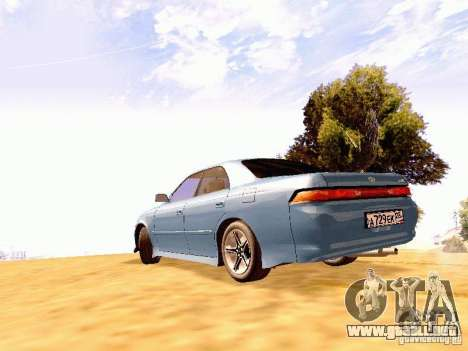 Toyota Mark II JZX90 para GTA San Andreas left