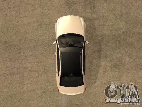 Mercedes-Bens e63 AMG para la visión correcta GTA San Andreas