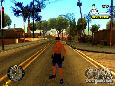 Gente de playa para GTA San Andreas segunda pantalla