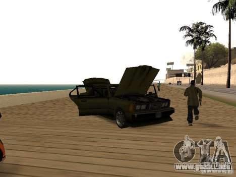 Sentinel XS para GTA San Andreas vista hacia atrás